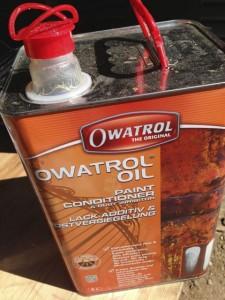 Penetrerende olie