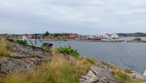 Den lille ø Kalven i Göteborgs skærgård