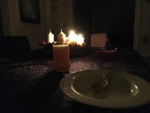 Ingen strøm, men til gengæld romantik til morgenmad