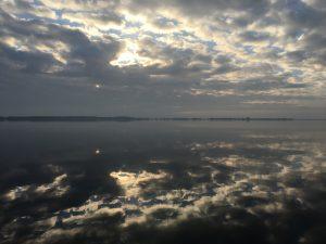Morgenstemning på Venø Sund