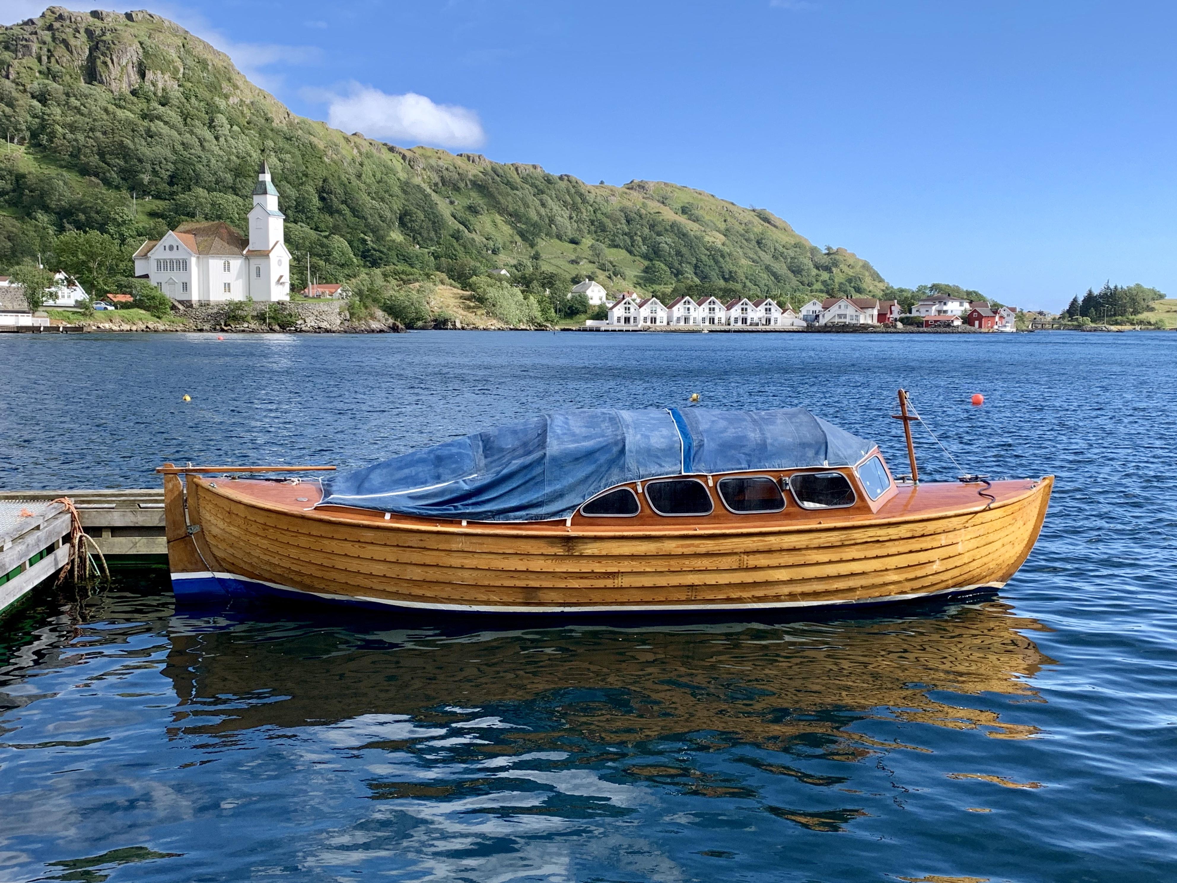 Norsk træbåd